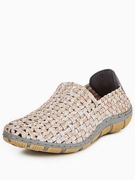Adesso Layla Stretch Elastic Comfort Flat Shoe - Caramel