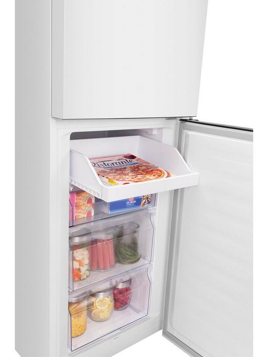 RB335N4WW1 55cm Wide Total No Frost Fridge Freezer With Non-Plumbed Water  Dispenser - White