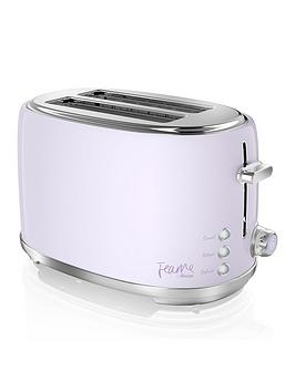 Swan Fearne By Swan 2 Slice Toaster Lily