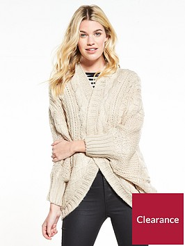 v-by-very-cable-cocoon-slouch-cardigan-oatmeal