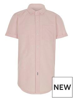 river-island-boys-pink-short-sleeve-oxford-shirt