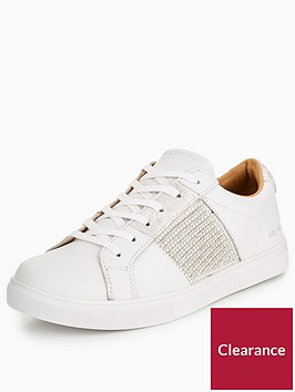 skechers-moda-bling-bandit-lace-up-trainers-whitenbsp