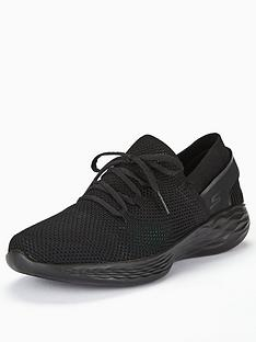 skechers-younbspspirit-lace-up-trainer-black
