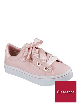 skechers-hi-lite-lace-up-trainer-light-pink