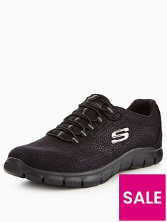 skechers-empire-take-charge-bungee-trainer-black