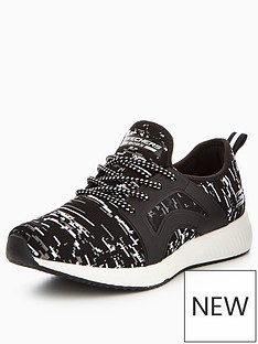 skechers-skechers-bobs-squad-double-dare-lace-up-trainer