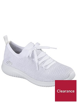 skechers-ultra-flex-salutations-lace-up-trainer-whitenbsp