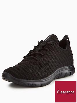 skechers-flex-appeal-20-estates-trainer-black
