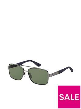 tommy-hilfiger-tommy-hilfiger-black-rectangle-sunglasses