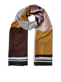 river-island-pink-blanket-scarf