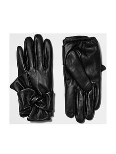 river-island-black-tied-bow-glove