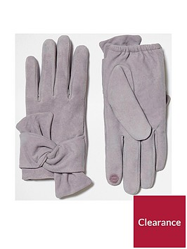 river-island-grey-suede-tied-glove