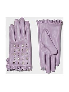 river-island-purple-frill-stud-glove
