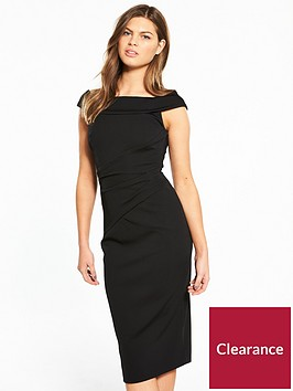 karen-millen-bardot-neckline-dress
