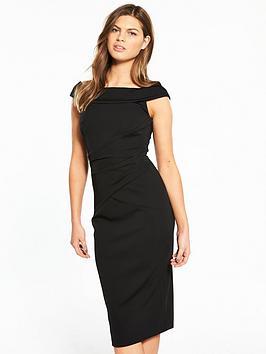 Karen Millen Bardot Neckline Dress