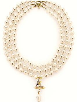 vivienne-westwood-three-rows-archive-pearl-necklace-gold