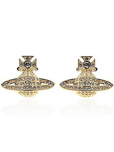 vivienne-westwood-mininbspbas-relief-earrings-gold