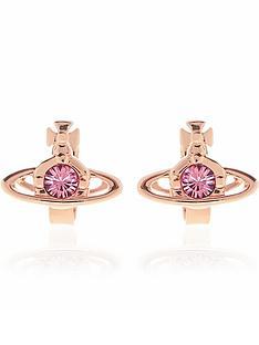 vivienne-westwood-nano-solitaire-single-earrings-rose