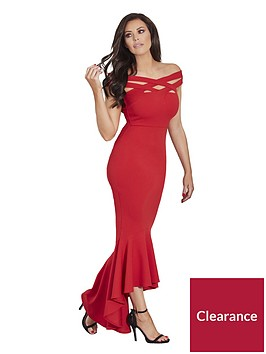 jessica-wright-giovanna-hi-low-maxi-dress-red