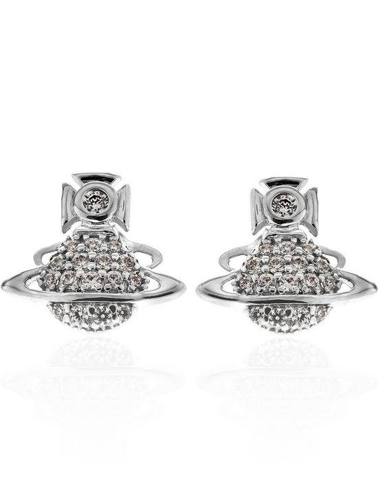 a7ce65387 VIVIENNE WESTWOOD Tamia Earrings-Silver | very.co.uk