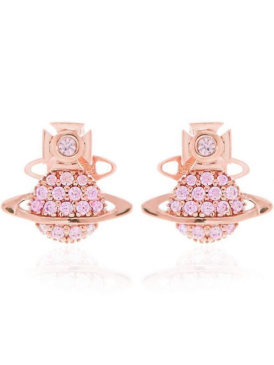 d17ca8174 VIVIENNE WESTWOOD Tamia Earrings-Rose | very.co.uk