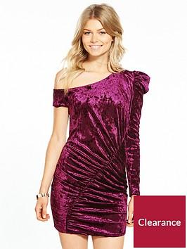 v-by-very-petite-velvet-mini-dress