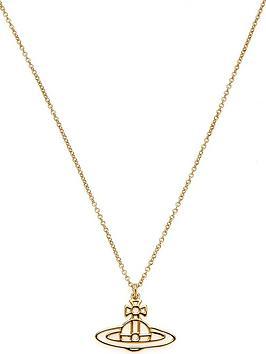 vivienne-westwood-thin-lines-flat-orb-pendant-necklace--gold
