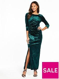 wallis-velvet-maxi-dress