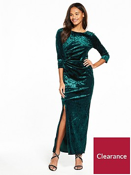 wallis-velvet-maxi-dress