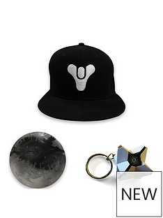 destiny-2-3d-ghost-key-ring-traveller-stress-ball-and-tricorn-snapback