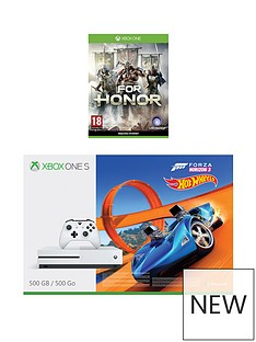 xbox-one-xbox-one-s-500gb-console-with-forza-horizon-3-hot-wheels-for-honor-wireless-controller-white