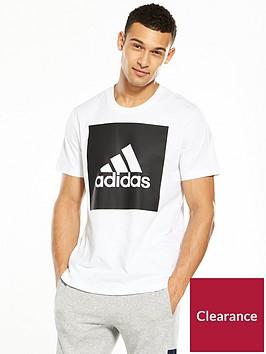 adidas-essential-big-logo-t-shirt