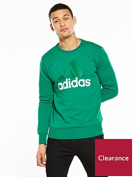 adidas-essentialsnbspbig-logo-crew-neck-sweat
