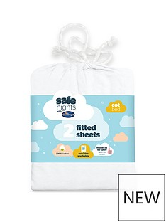 silentnight-pack-of-2-jersey-fitted-cot-bed-sheets