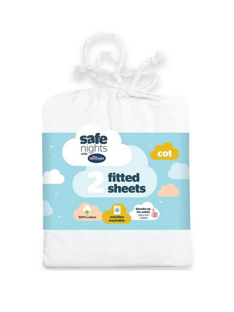 silentnight-pack-of-2-jersey-fitted-cot-sheets