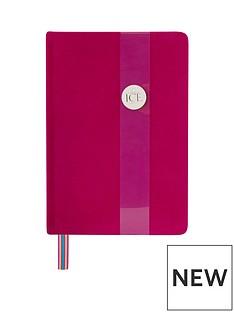 ice-london-velvet-a5-notebook-pink
