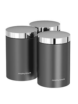 morphy-richards-accents-set-of-3-storage-canisters-ndash-titanium