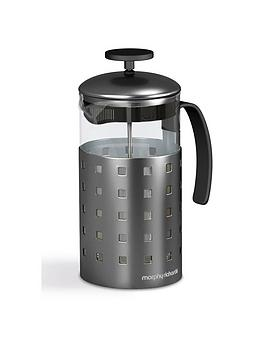 morphy-richards-accents-8-cup-cafetiere-1000ml-titanium