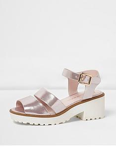 river-island-river-island-girls-chunky-metallic-sandal