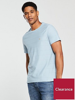 farah-epping-textured-t-shirt