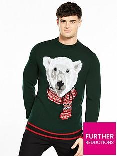 river-island-polar-bear-christmas-jumper