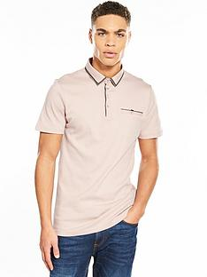 river-island-winner-woven-collar-polo
