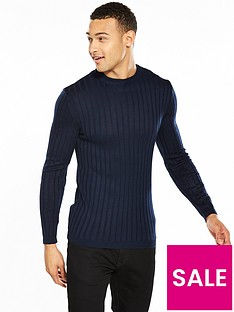 river-island-ls-muscle-fit-clarke-crew-neck