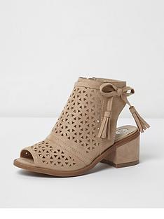 river-island-lazer-cut-tassel-shoe-boot