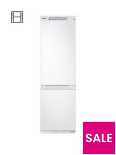 Samsung BRB260000WW/EU 60cm Wide Integrated Frost Free Fridge Freezer with Total No Frost - White
