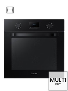 samsung-nv70k1340bbeu-60cmnbspsingle-oven-with-with-dual-fannbspand-5-year-samsung-parts-and-labour-warranty-black