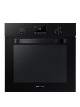 Samsung Nv70K1340Bb/Eu 60Cm Single Oven With With Dual Fan And 5 Year Samsung Parts And Labour Warranty - Black