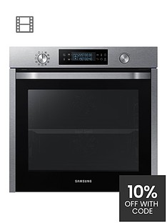 samsung-nv75k5571rseu-60cm-single-electric-oven-with-dual-cooknbsp--stainless-steel