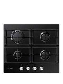 samsung-na64h3000aku1-60cm-widenbspgas-hob-with-powerful-heat-black