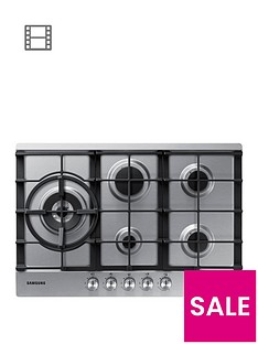 samsung-na75j3030aseu-60cmnbsp5-burner-gas-hob-with-cast-iron-grates-stainless-steel